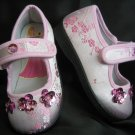 Pink Silk Nwot Mary Janes For You Little Princess