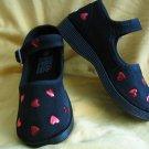 Beautiful Valentine Black Mary Janes
