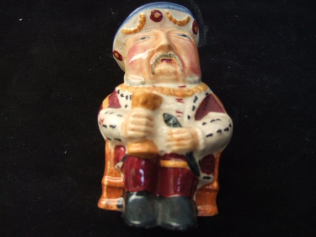 Staffordshire Shorter Henry VIII Mug 5.25 Inches Tall Made In England