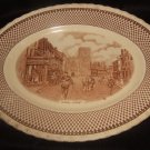 Myott Son & Co. Serving Platter With Shakespearean Scene