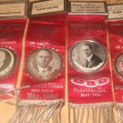 Large Group Of Representative Lodge Ribbons/Buttons/Medals 1907 to 1943
