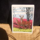 15 Identical Deer Scene Postcards From DeCalco, Inc.