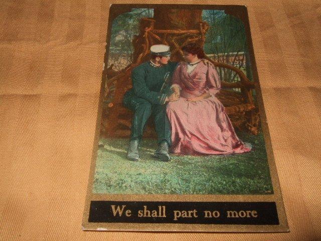 We Shall Part No More Postcard 1910's
