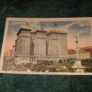 St. Francis Hotel & Union Square Hotel 1910's Panama Pacific Postcard