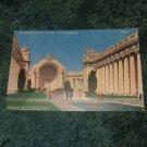 Half Dome Court Of The Four Seasons 1913 Panama Pacific Postcard