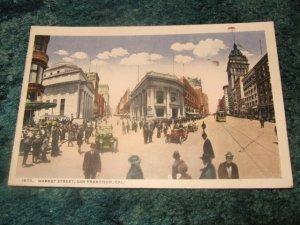Market Street, San Francisco #1570 Panama-Pacific Exposition Postcard