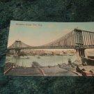 Manhattan Bridge, New York 1910's Postcard