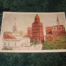 #553 New York City Hall 1910's Postcard J. Koehler