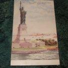 Statue Of Liberty, New York Harbor 1910's Postcard J. Koehler