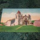 Carmel Mission, Monterey California #58 1910's Postcard
