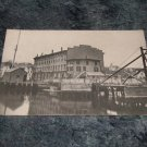 Connecticut Dock Scene Black And White Postcard 1910's?
