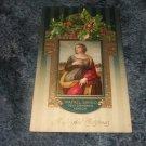 Rafael Sanzio Holy Catherine London A Joyful Christmas Embossed