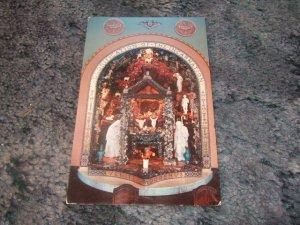 Christmas Chapel St. Peter & Paul's Catholic Church, West Bend Iowa Postcard 1950's?