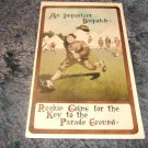 An Important Dispatch 1910's Army Humor Type Postcard