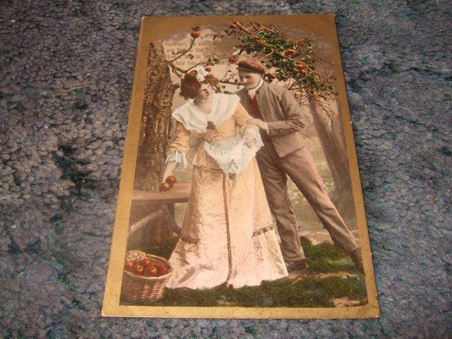 Oh Maiden He Cried Victorian Era Postcard German