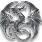Draco Dragon Pendant for Stability and Progress