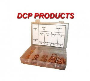 Metric Std Copper gasket kit- Crushable Copper- 226 Pc.