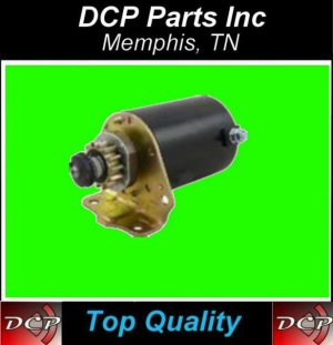 NEW STARTER JOHN DEERE / BRIGGS AND STRATTON 693551 WITH METAL GEAR 14 TOOTH