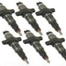 DODGE CUMMINS 5.9l , 5.9 COMPLETE SET OF INJECTORS 2004.5 TO 2007 DODGE RAM