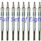 94-03 Ford 7.3L Super Duty Powerstroke Turbo Diesel Glow Plug Set of 8