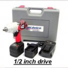 "Li-ion 18V 1/2"" Super-Torque Impact Wrench with Digital Clutch"