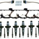 2004.5-2007 5.9 INJECTOR SET (6) DODGE CUMMINS 5.9L W/NEW TUBES & VC Gaskets