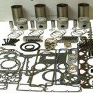 JCB MAJOR ENGINE REBUILD OVERHAUL KIT - PERKINS 4.236 A4.236 3CX 410 520 LATE