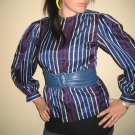 Striped Poof Blouse