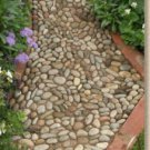 DIY How To Lay A Pebble Path