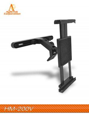 """Mobotron HM-200V Car Headrest Holder Mount for 5-12"""" Smarthones and Tablets"""