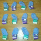 NEW with TAGS 12 pair GITANO BASICS BLUE INFANT SOCKS SIZE 5-6  FREE SHIPPING
