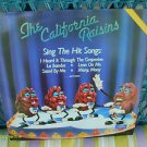 VINTAGE 80s LP THE CALIFORNIA RAISINS 1987 PRIORITY INCL POSTER+ MORE clean