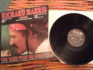"Vintage 12"" VINYL RICHARD HARRIS THE YARD WENT ON FOREVER..DUNHILL GATEFOLD CVR"