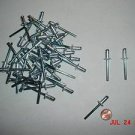 "New ALUMINUM POP RIVETS /steel mand 50 pcs 1/4"" x 1/2""~FREE SHIPPING within USA"