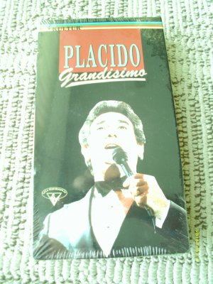 SEALED VHS VIDEO  Placido Grandisimo Musicals, Broadway Classical, Opera