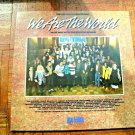 """12"""" Vinyl Gatefold Cover We Are the World USA For AFRICA THE ALBUM Kenny Rogers"""