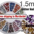 1800pcs Glitter Nail Tips Wheel + Free shipping!