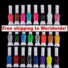 24 Colors 2 Way Nail Polish Pen set + Free shipping!
