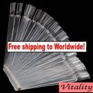 50 Nail Art Tips Display Fan Board + Free shipping!