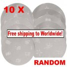10 Pcs Nail Art Stamping Template Plate + Free shipping!