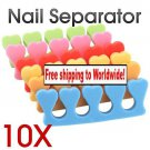 10 x Soft Toe Finger Separator + Free shipping!