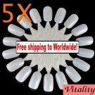 5 x Nail Art Display Wheel + Free shipping!