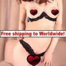 Sexy Bra Underwear Suit Lingerie Open Crotch + Free shipping to worldwide!