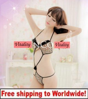 Sexy Ladies Lingerie Leopard  + Free shipping to worldwide!