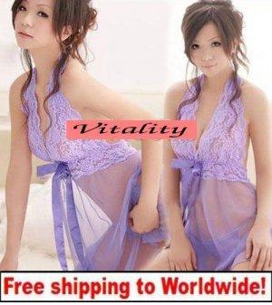 Sexy Lady Women's Lingerie Sleepwear Night Dress + Free shipping to worldwide!