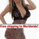 Leopard Sexy Lingerie Sleepwear + Free shipping to worldwide!