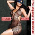 Fishnet Body Lingerie + Free shipping to worldwide!