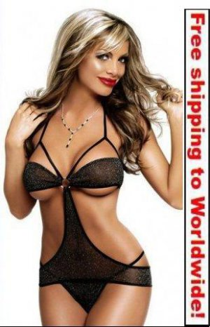 Twilight Cut Out Lingerie + Free shipping to worldwide!