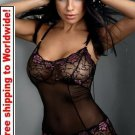 Sexy Flower Lace Chemise + Free shipping to worldwide!