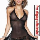 Sexy Shorts Lingerie Women Black Panties Briefs Sleepwear + Free shipping to worldwide!